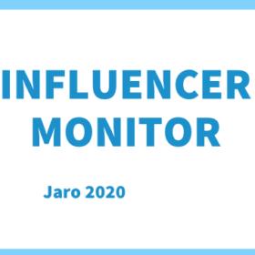Influencer monitor – výsledky 2. vlny