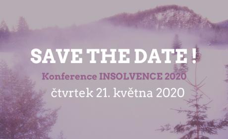 Konference Insolvence 2020- registrace již od 25. února!